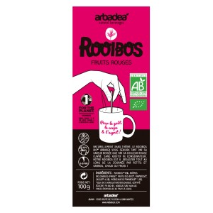 Rooibos bio Fruits Rouges Arbadea